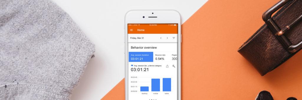 mobile website analytics