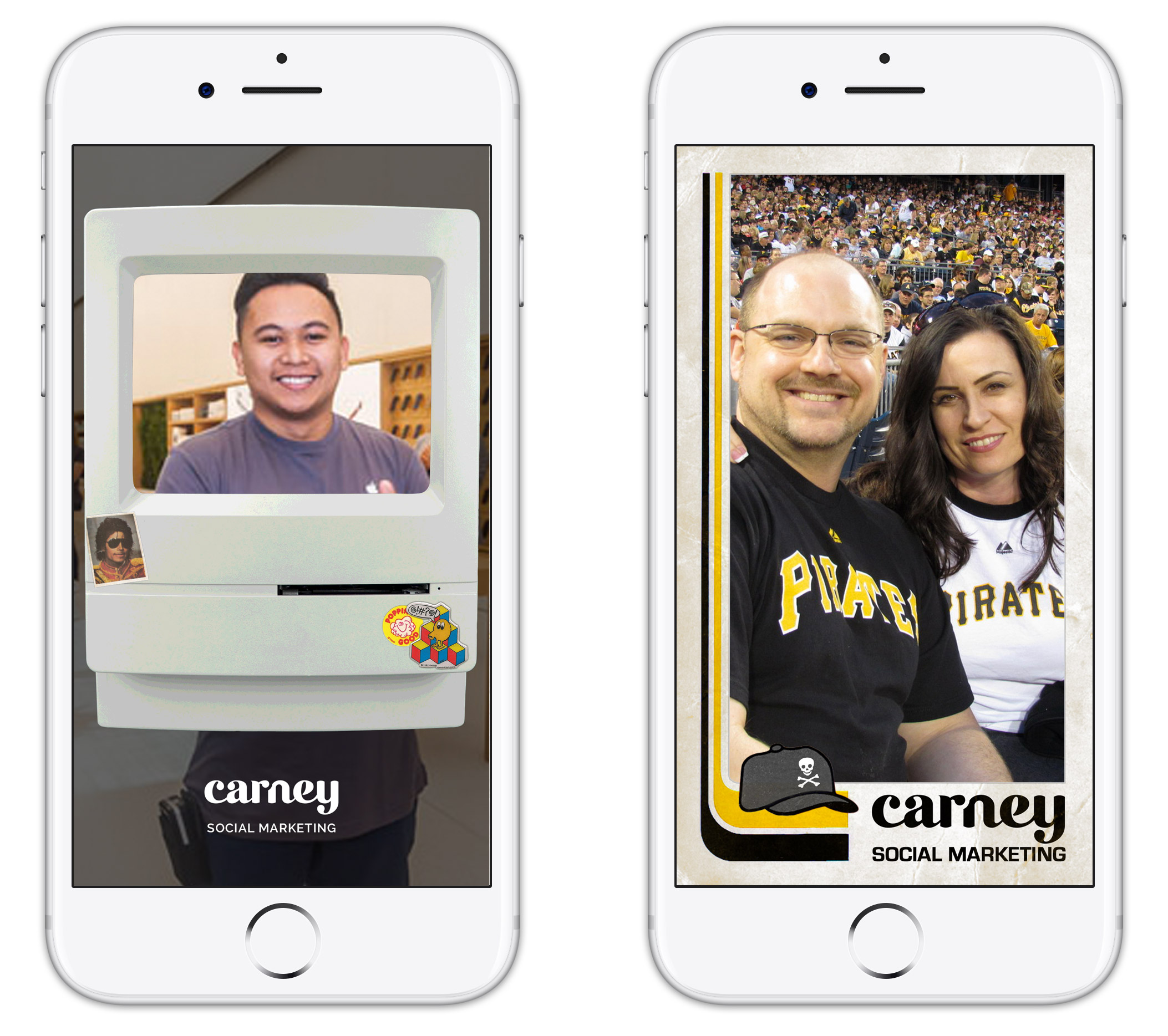 Carney Snapchat Geofilters